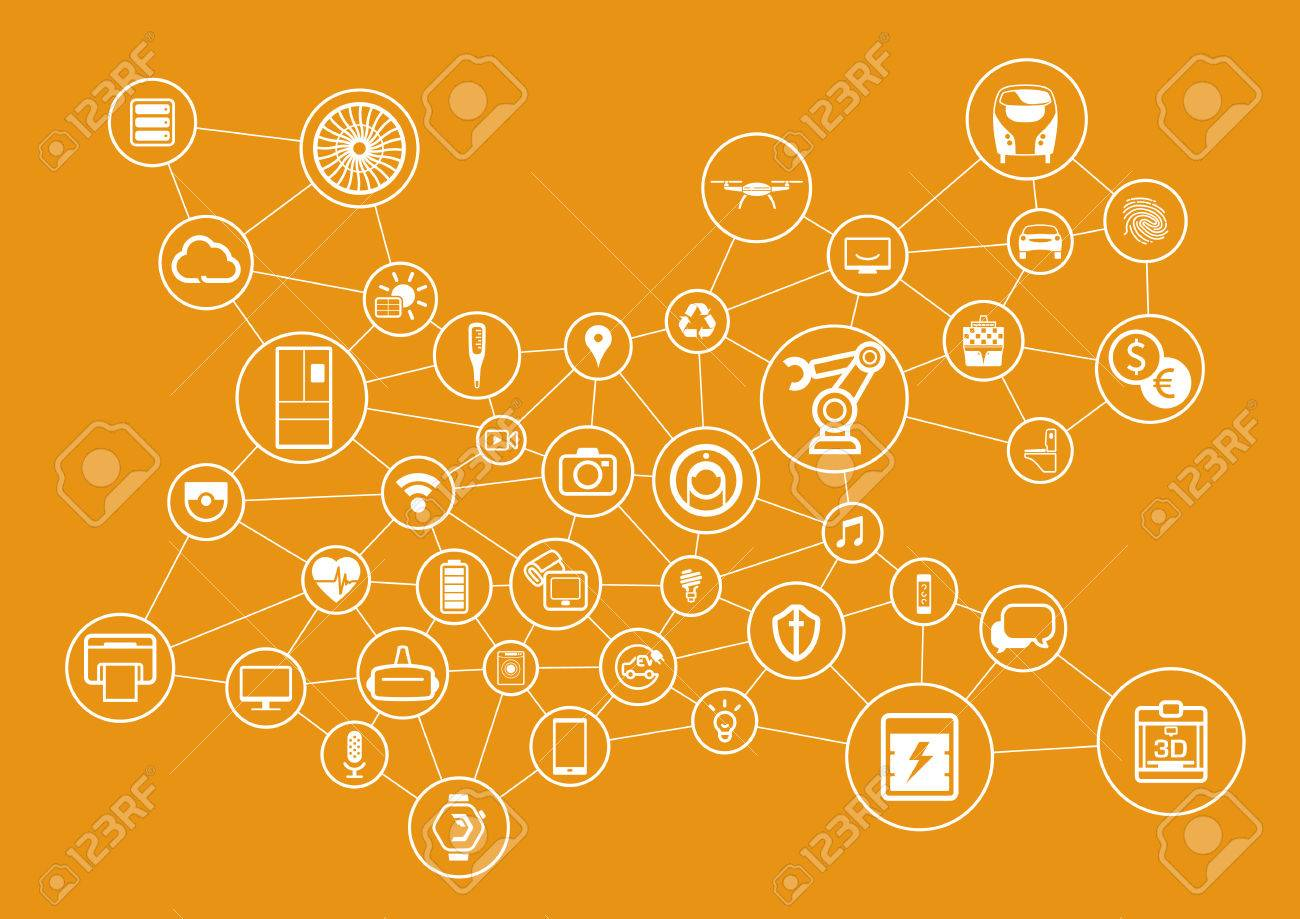 Internet of Things concept. Vector illustration. - 59037439