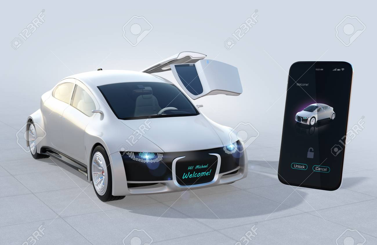 Unlock Car With Phone >> Using Smart Phone Sharing App To Unlock Car S Doors Car Sharing