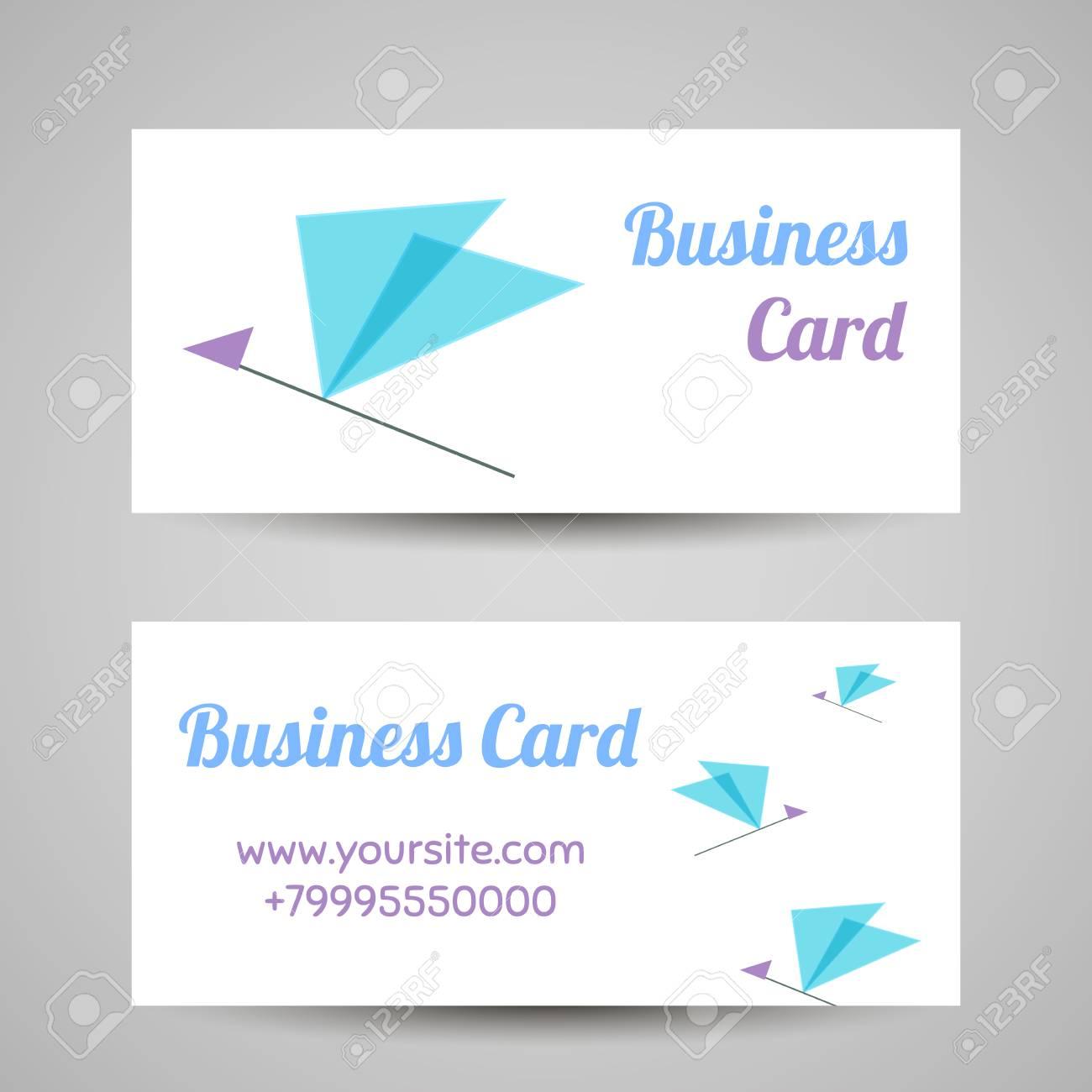Visitenkarte Vorlage Vector Symbol Für Schönheitsindustrie Schönheitssalon Kosmetik Kennzeichnung Schönheit Boutique