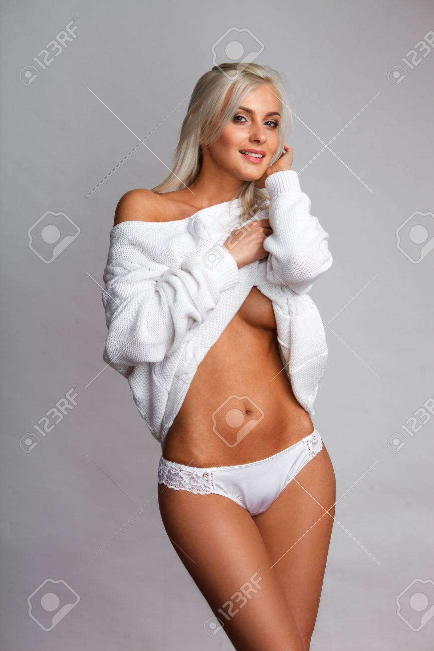 Blonde In Panties