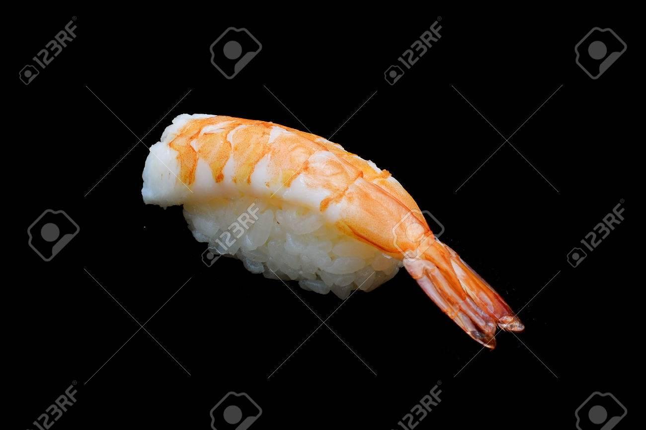 Ebi Sushi Japanese Shrimp On Japanese Ricejapanese Tradition