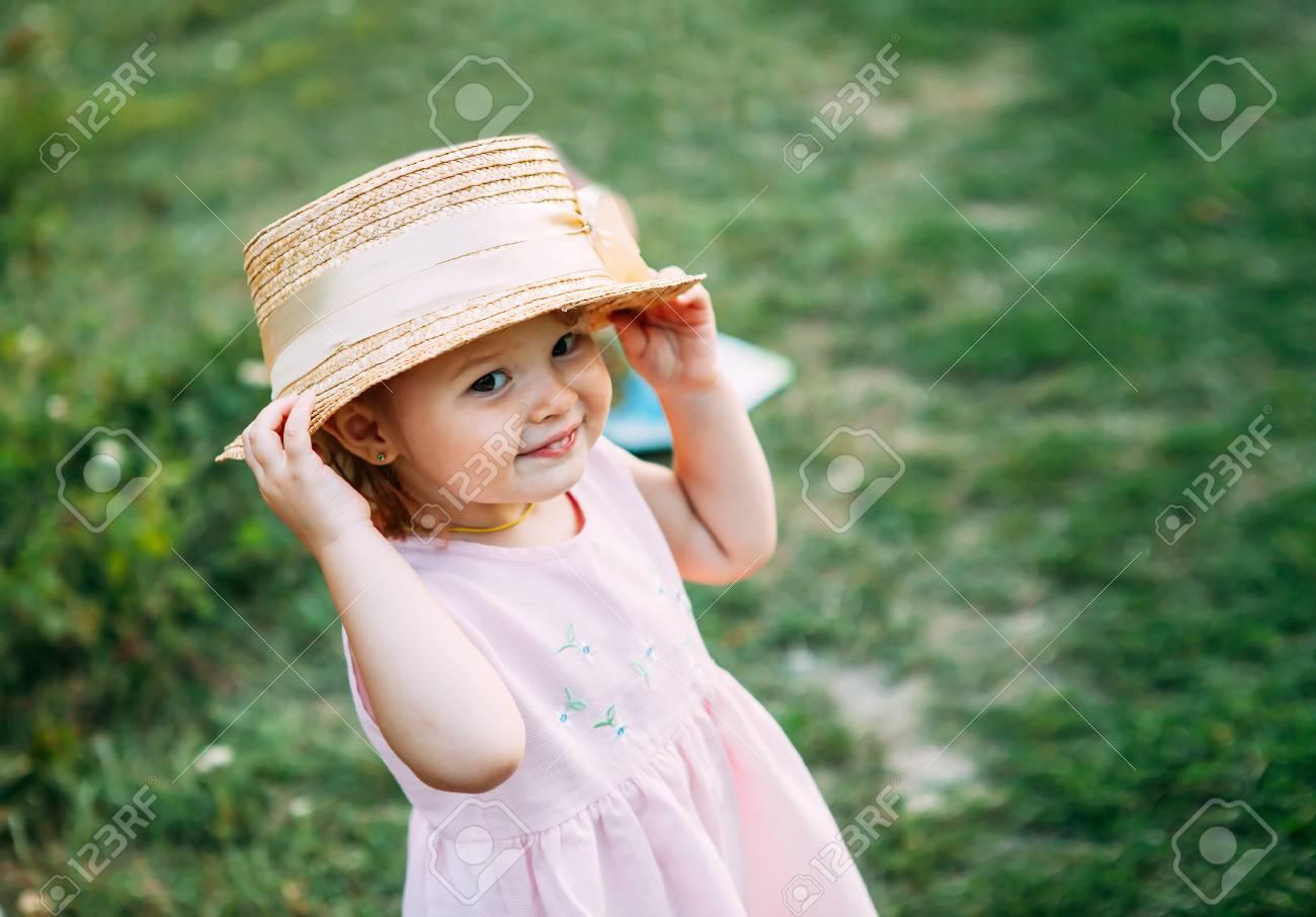 Cute Child Girls Straw hat