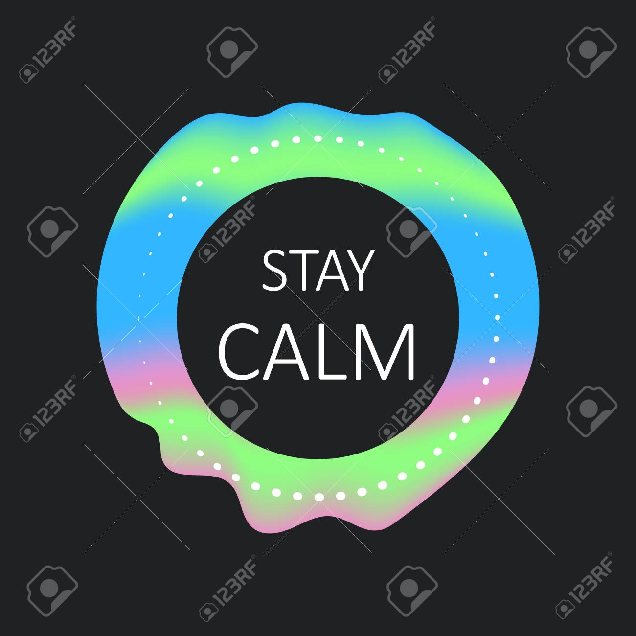 stay calm template
