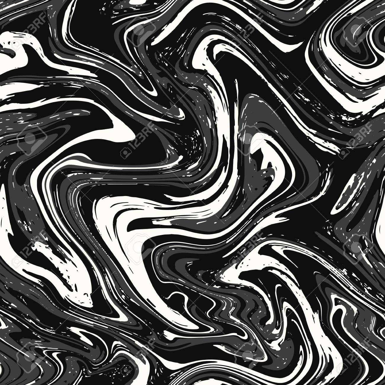 Marble Texture Seamless Background Abstract Black And White Pattern Royalty Free Cliparts Vectors And Stock Illustration Image 113361176
