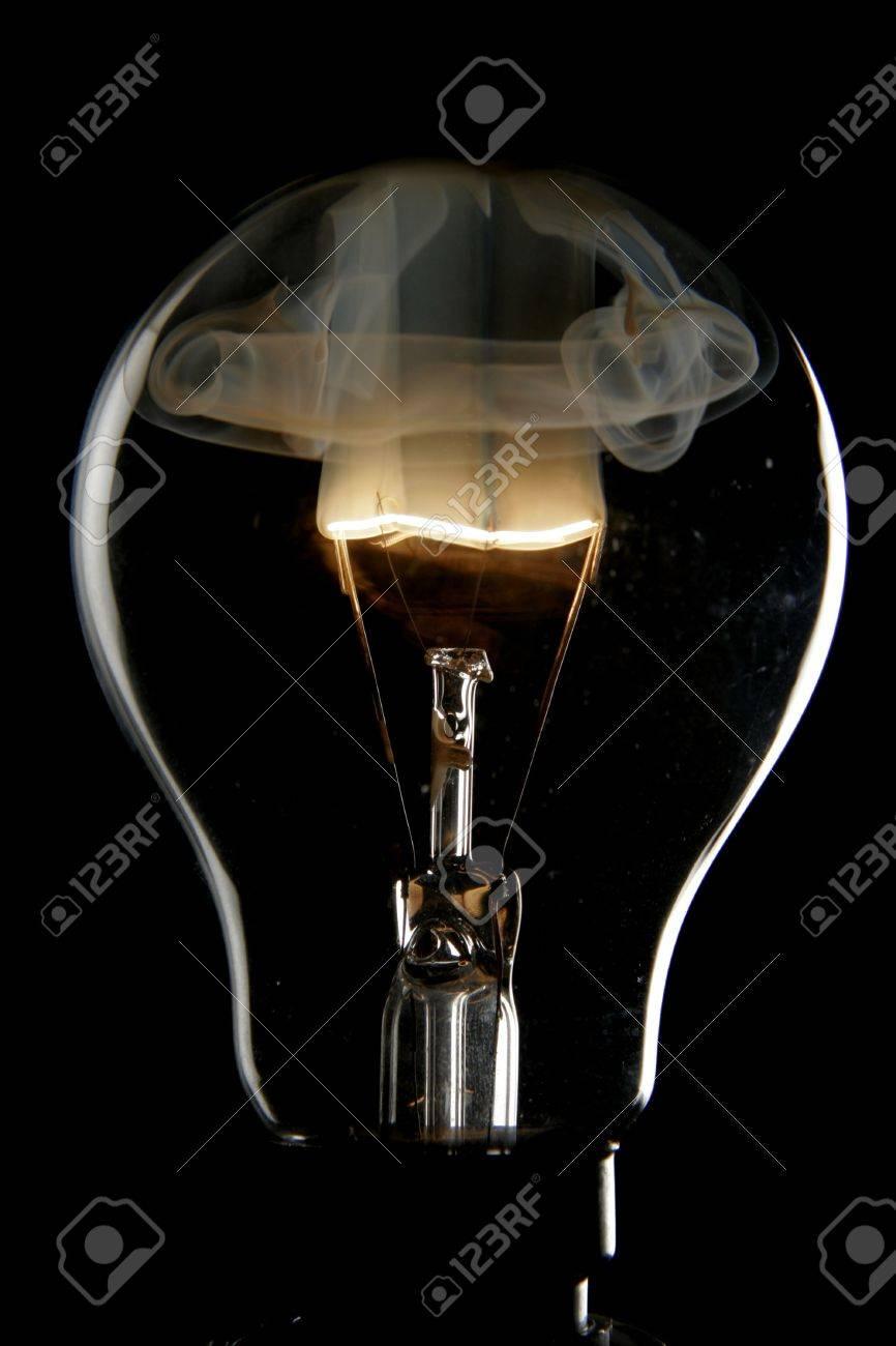 Exploding bulb Stock Photo - 551081
