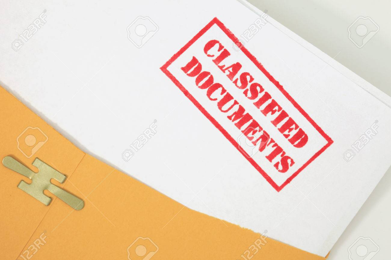 Classified Documents Stock Photo - 23334030