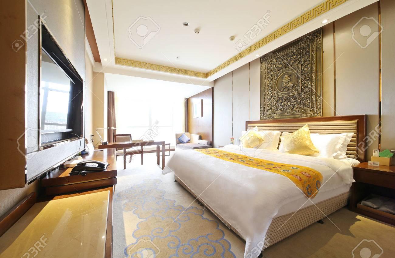 Conception d\'espace intérieur d\'hôtel et salle de modèle de décoration