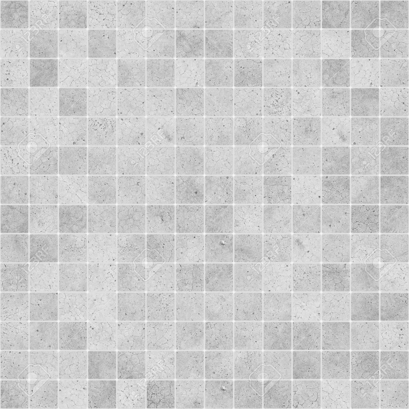 Concrete Mosaic Tile Seamless Texture