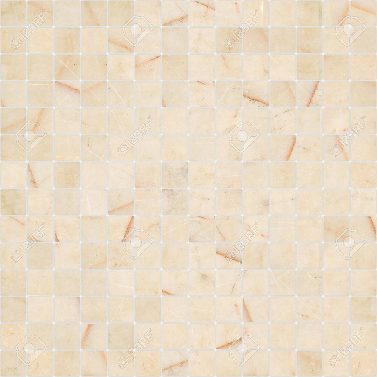 Yellow White Mosaic Marble Tile Texture Seamless Stock Photo Picture And Royalty Free Image Image 70886969