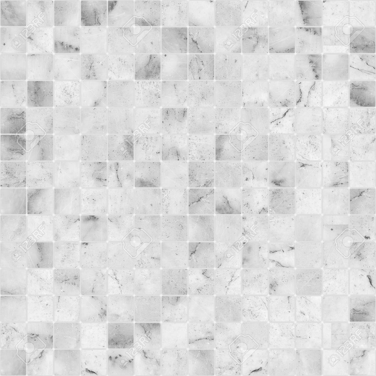 White Mosaic Marble Tile Texture Seamless Stock Photo Picture And Royalty Free Image Image 70887659