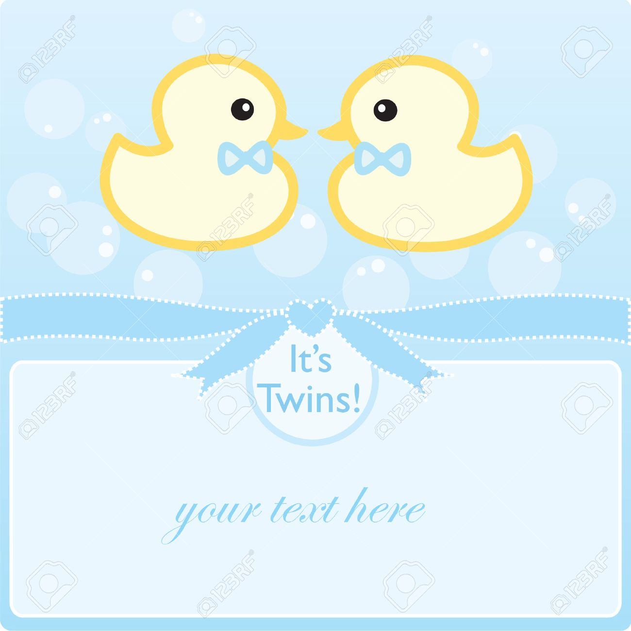 It's Twin Boys! Royalty Free Cliparts, Vectors, And Stock ...