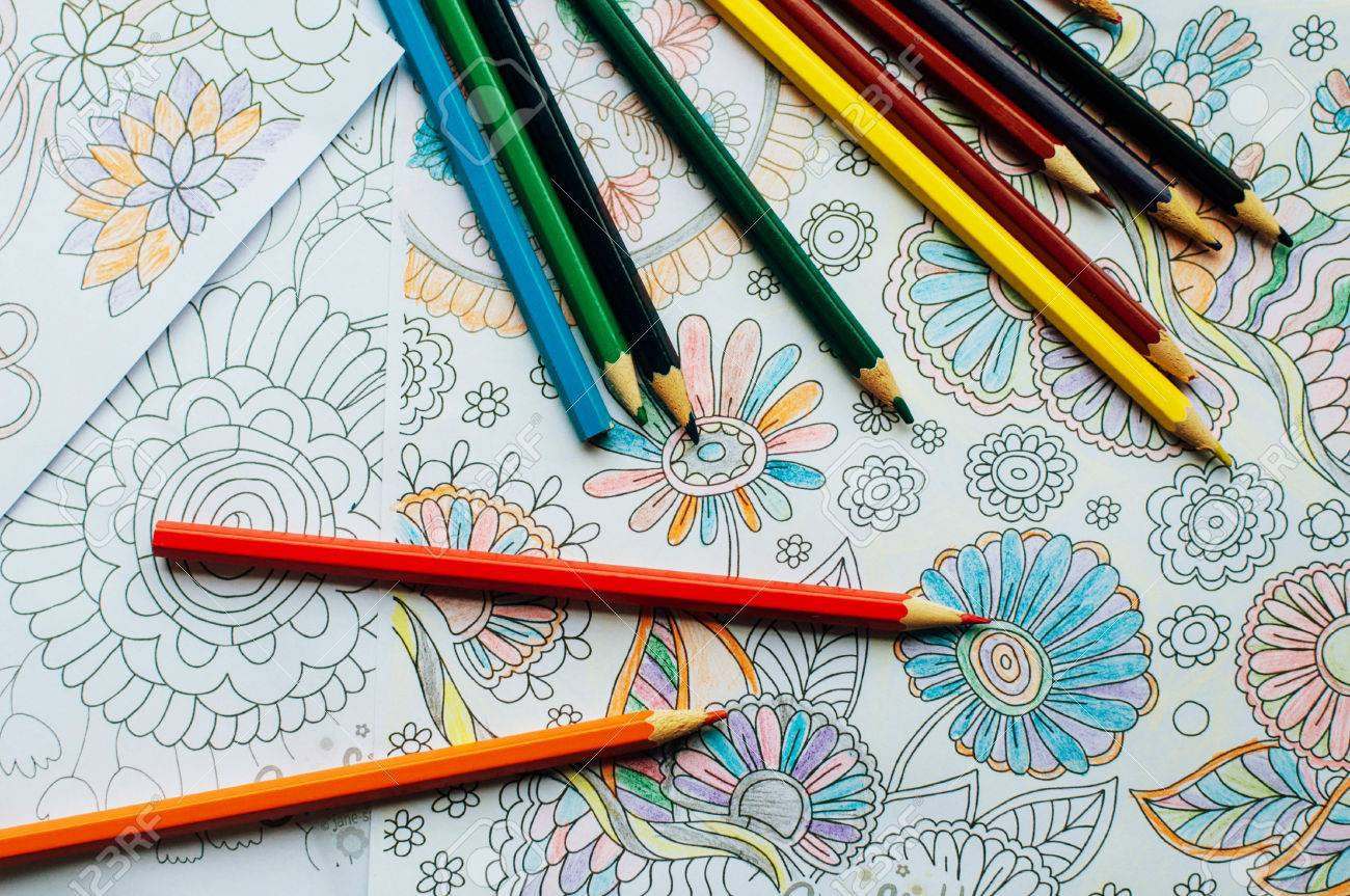 93 Stress Free Coloring Book Best HD