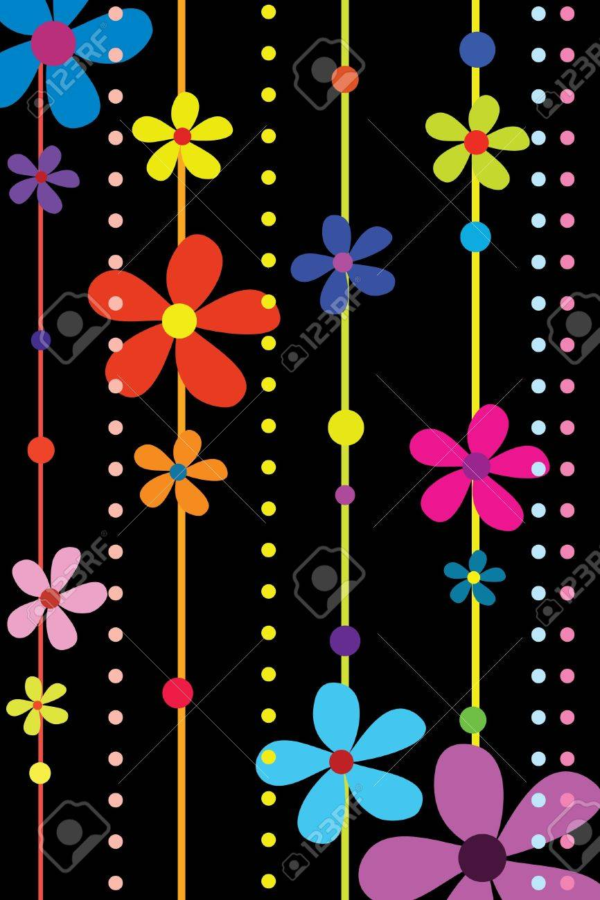 many beautiful flowers Stock Vector - 7793250