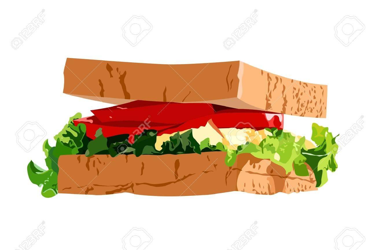 Sandwich Stock Vector - 8815444