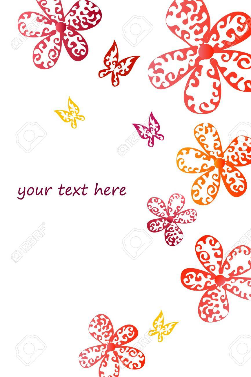 Floral background Stock Vector - 8815694
