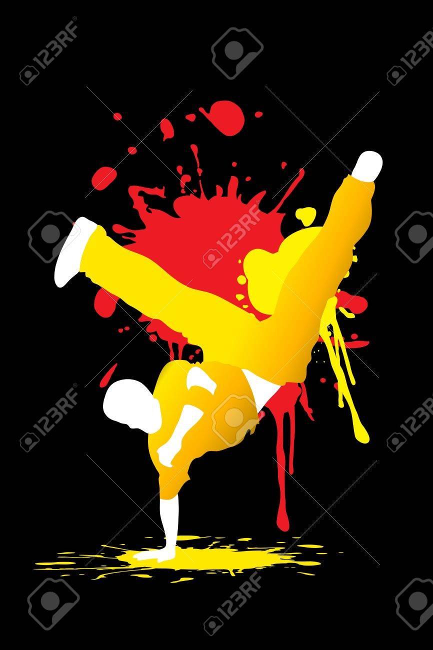 Dancing People Stock Vector - 9404810