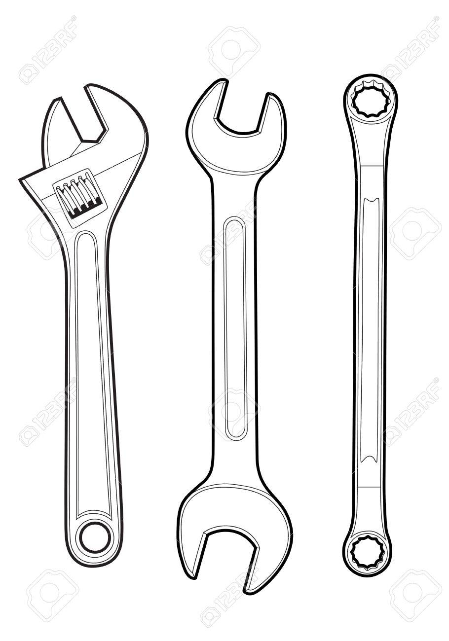 wrenches Stock Vector - 11656754