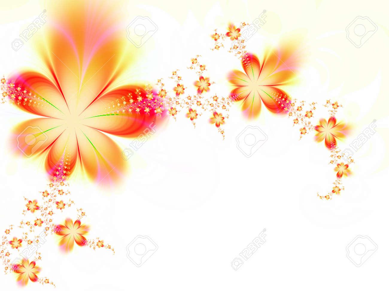 Dreamlike flowers Stock Photo - 1498834