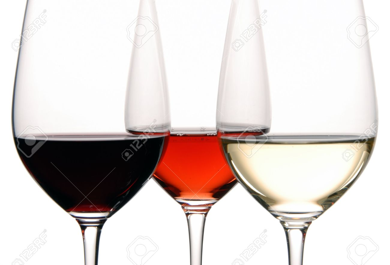 Three Colors of Wine Stock Photo - 2207936