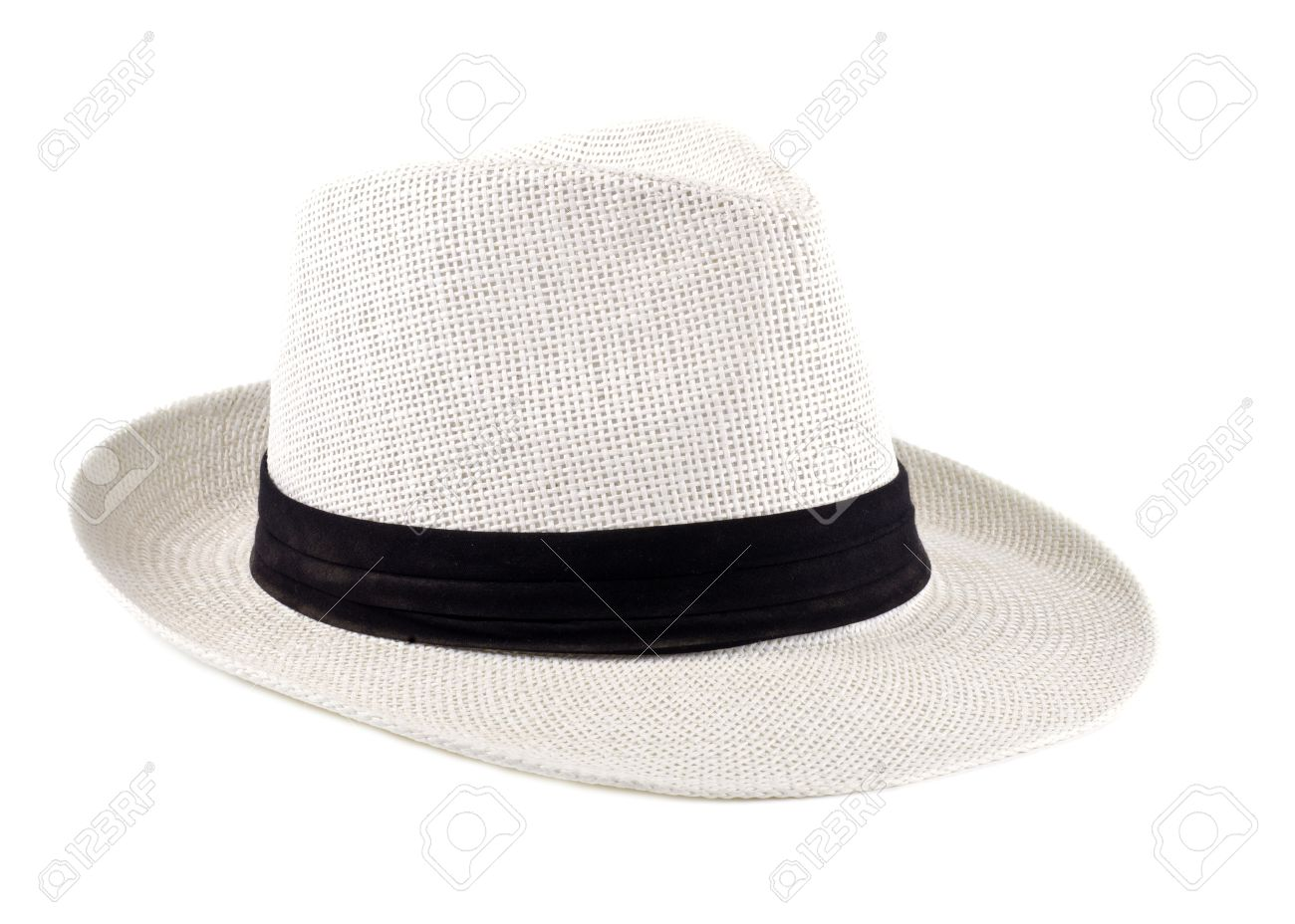 Stock Photo - White Straw Cuban Hat Isolated 35b0b352667