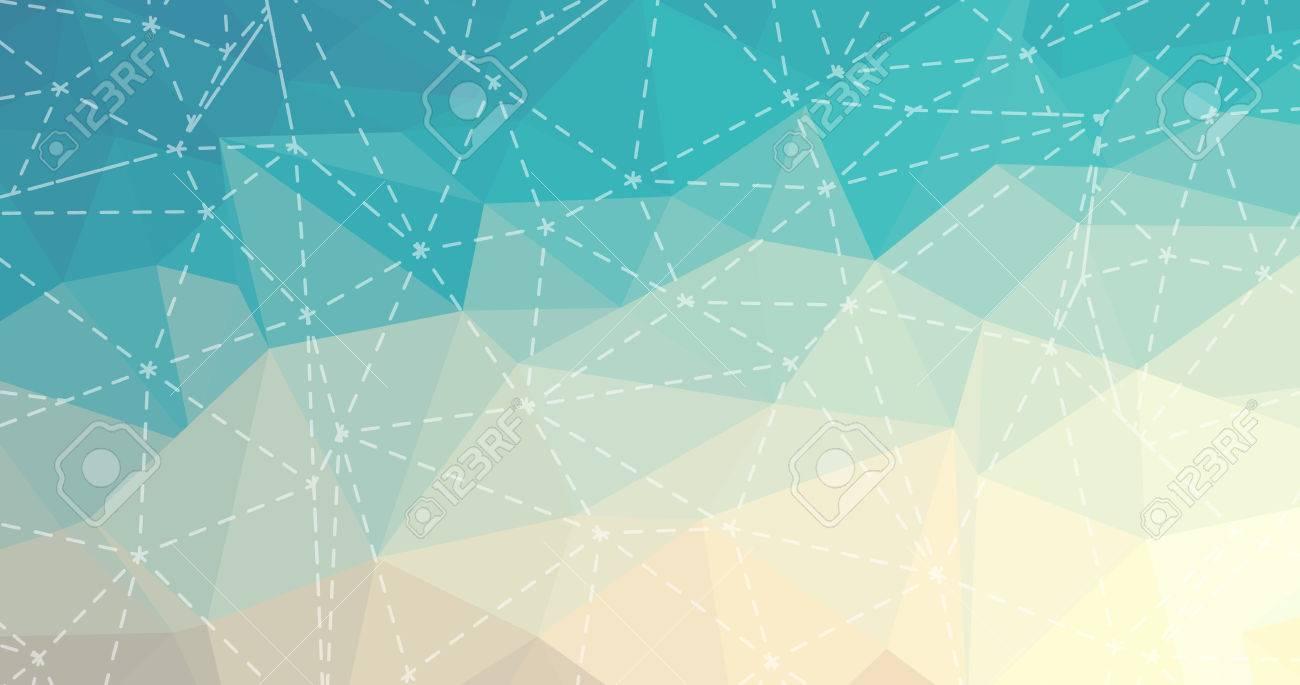 幾何学模様、三角形の背景、破線で多角形デザイン。のイラスト素材 ...