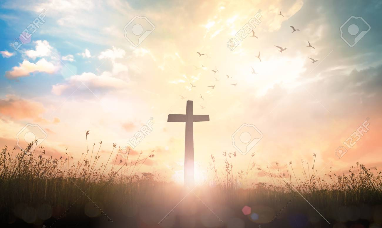 good friday concept the cross on meadow sunrise background stock photo picture and royalty free image image 98764544 good friday concept the cross on meadow sunrise background stock photo picture and royalty free image image 98764544