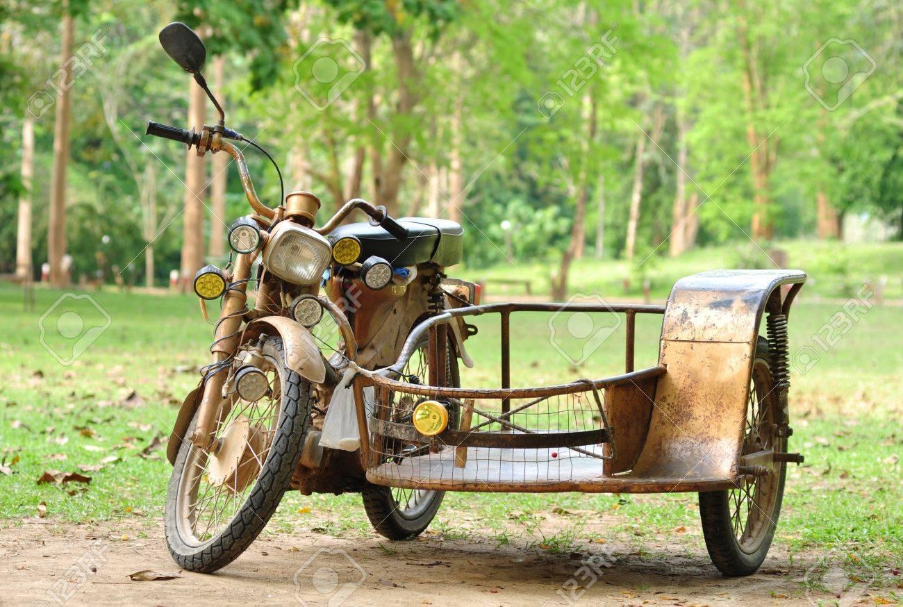vintage motorcycle trailers - 16295562