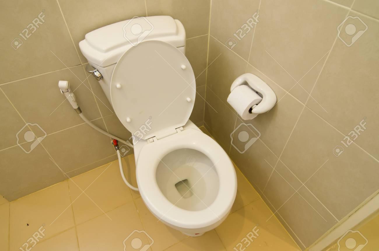 toilet at office Stock Photo - 24198528