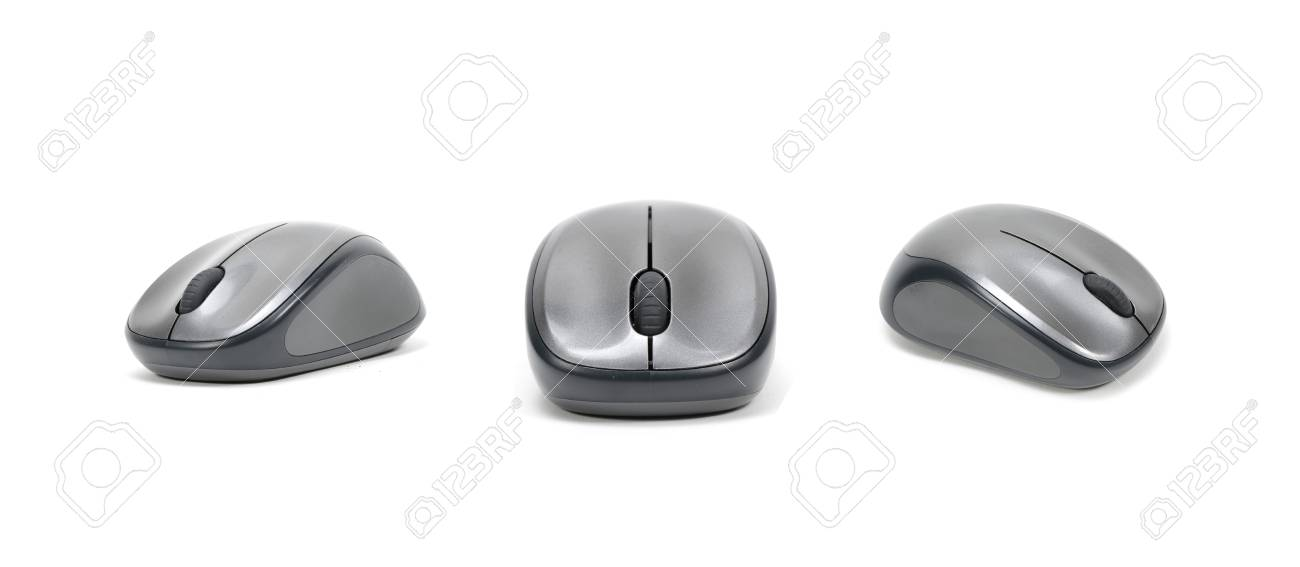 04274f44c4a picture set of Wireless computer mouse isolated on white background Stock  Photo - 27470370