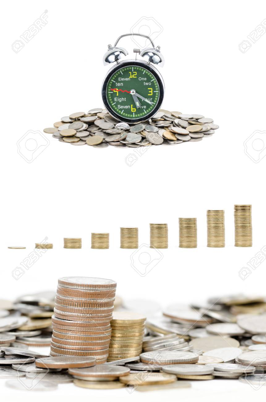 concept picture of business to make money, isolated on white Stock Photo - 27470394