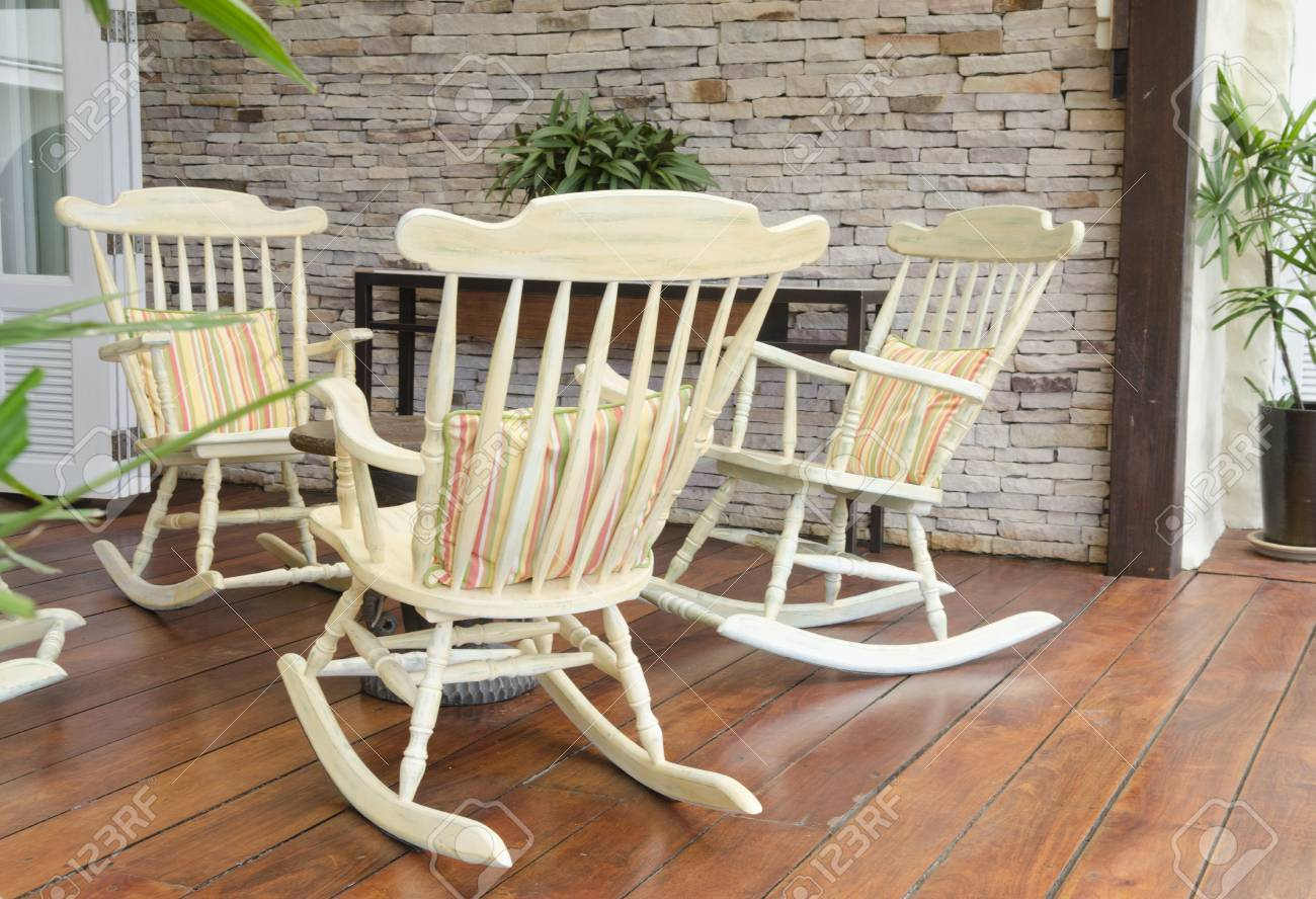 Superb Group Of Relaxing Rocking Chairs Overlooking Peaceful Mountain Cjindustries Chair Design For Home Cjindustriesco