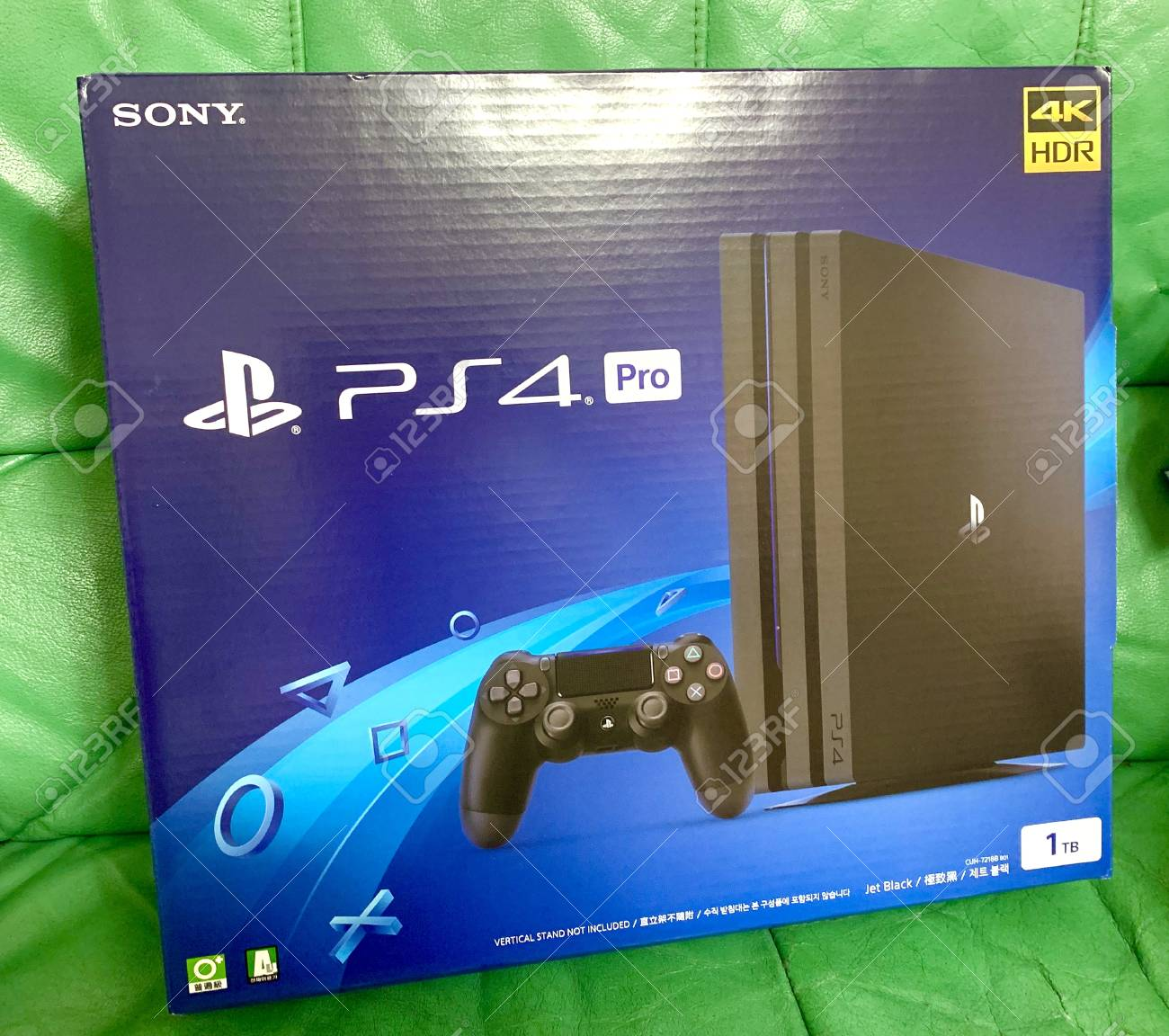 Sony Playstation 4 Pro 4k Hdr Stock Photo Picture And Royalty Free Image Image 121149651