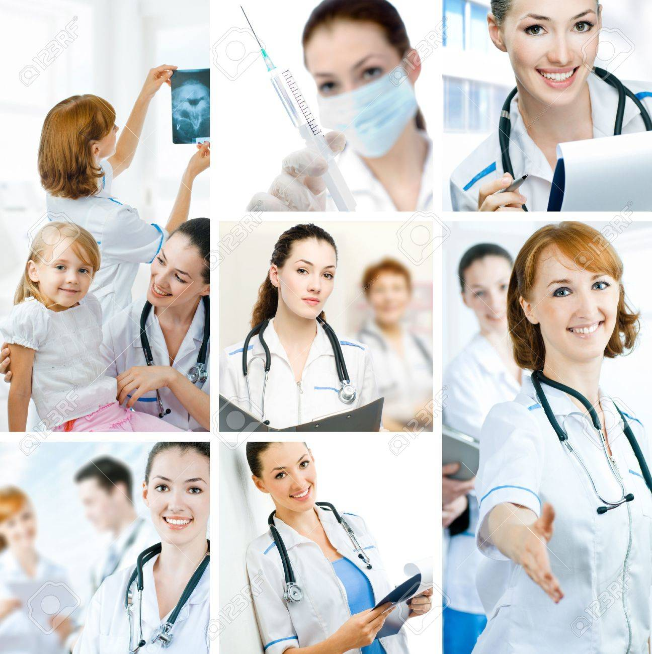 a team of experienced highly qualified doctors Stock Photo - 5748555
