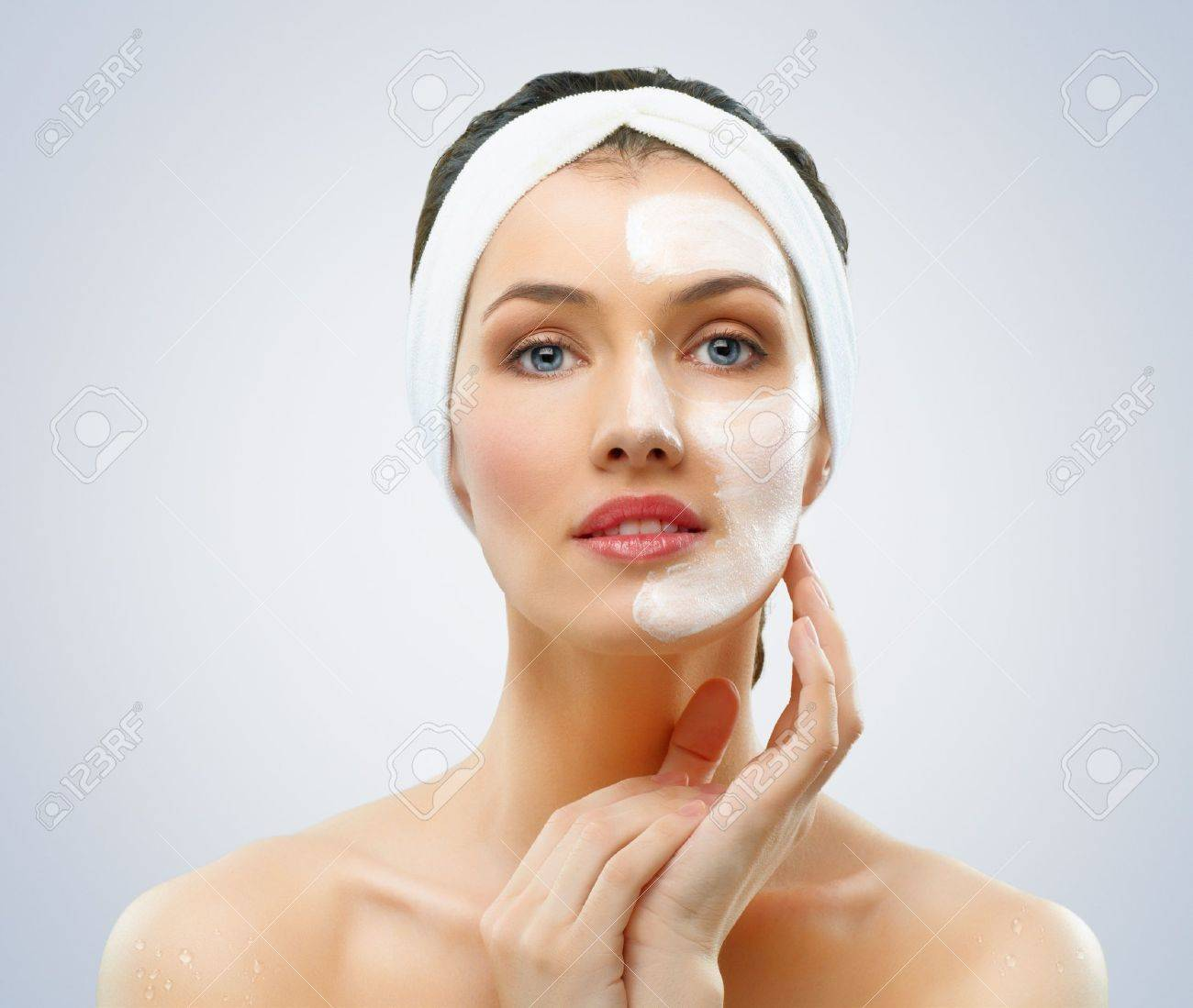 Image result for women with a face mask