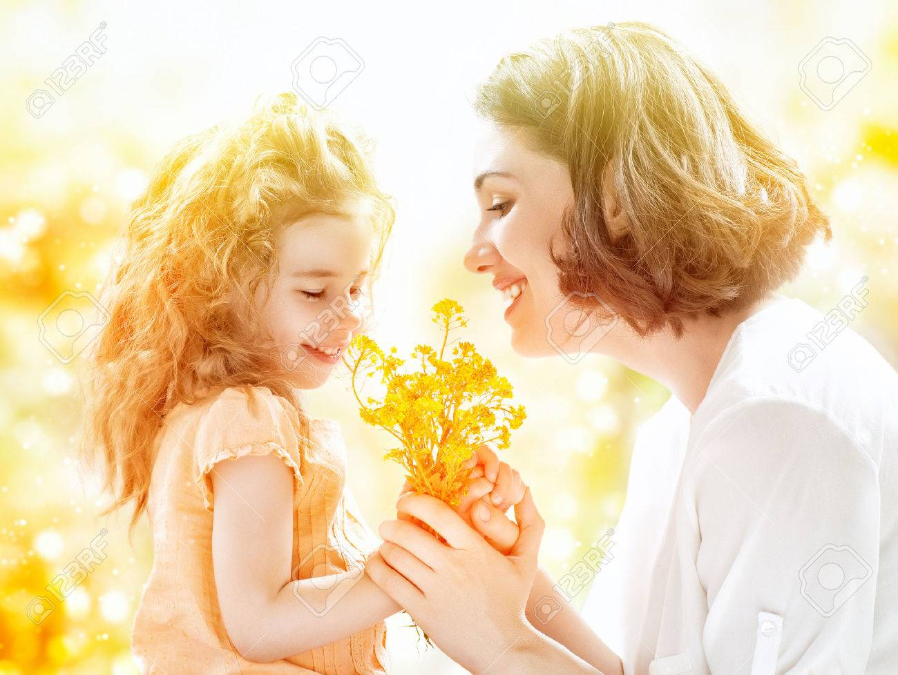 happy mother and child together Stock Photo - 29464424