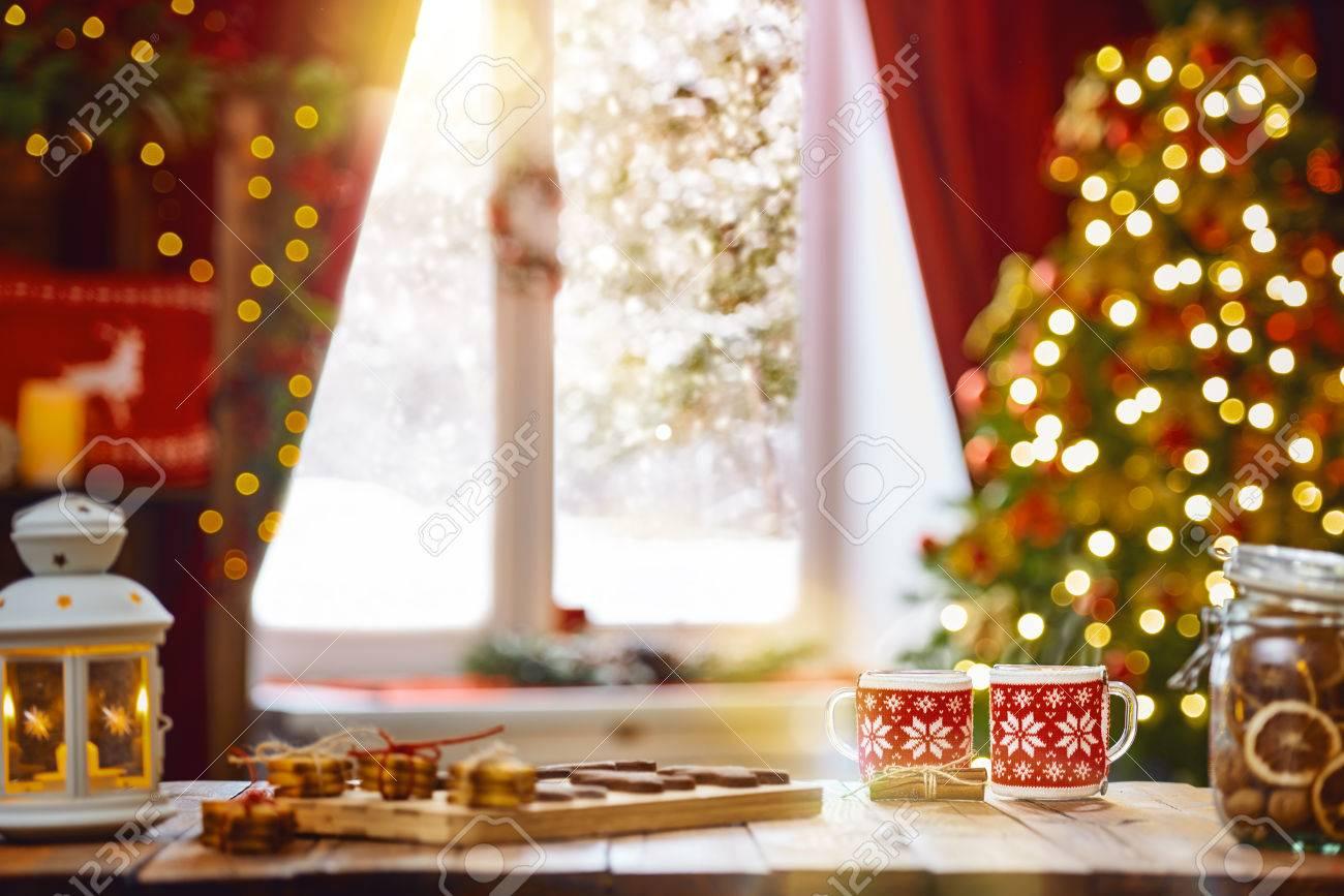 Buon Natale Famiglia.Immagini Stock Buon Natale E Buone Feste Tempo Di Tea Party