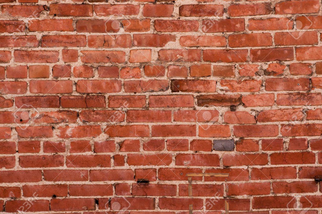 Mur En Brique Rouge mur de brique rouge en détresse