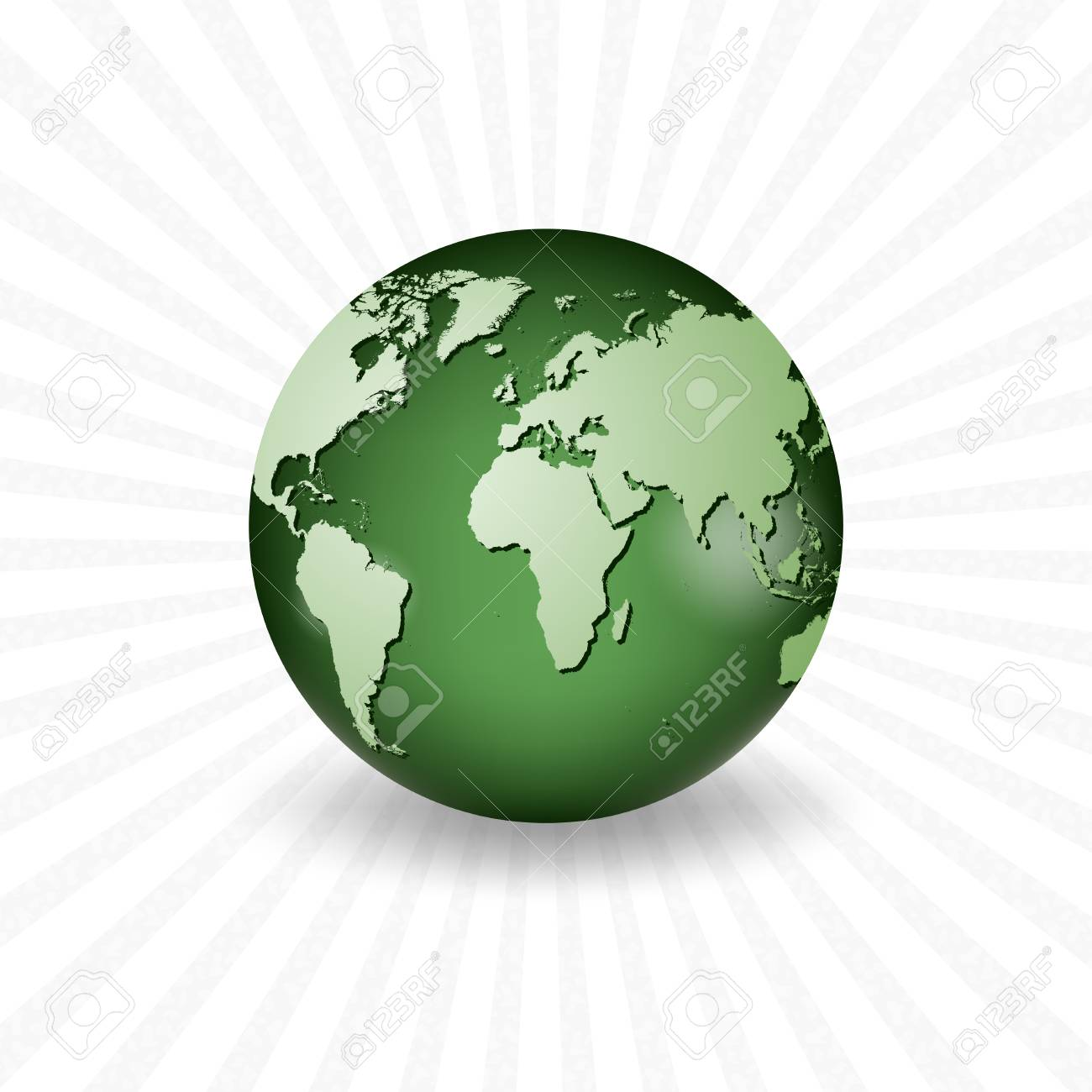 Planet earth with a realistic world map royalty free cliparts planet earth with a realistic world map stock vector 41817678 gumiabroncs Choice Image