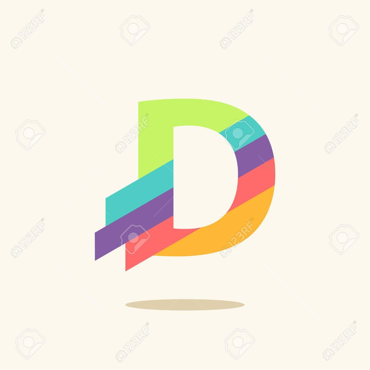 Letter D logo icon design template elements - 50211025
