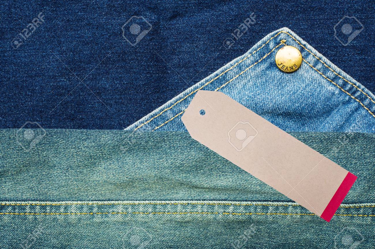 denim jeans background with seam of jeans fashion design and stock