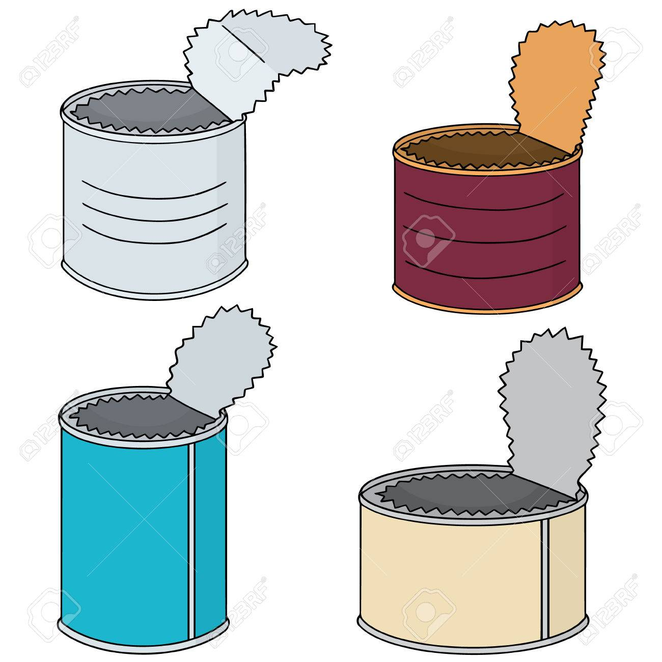 vector set of can - 82649925