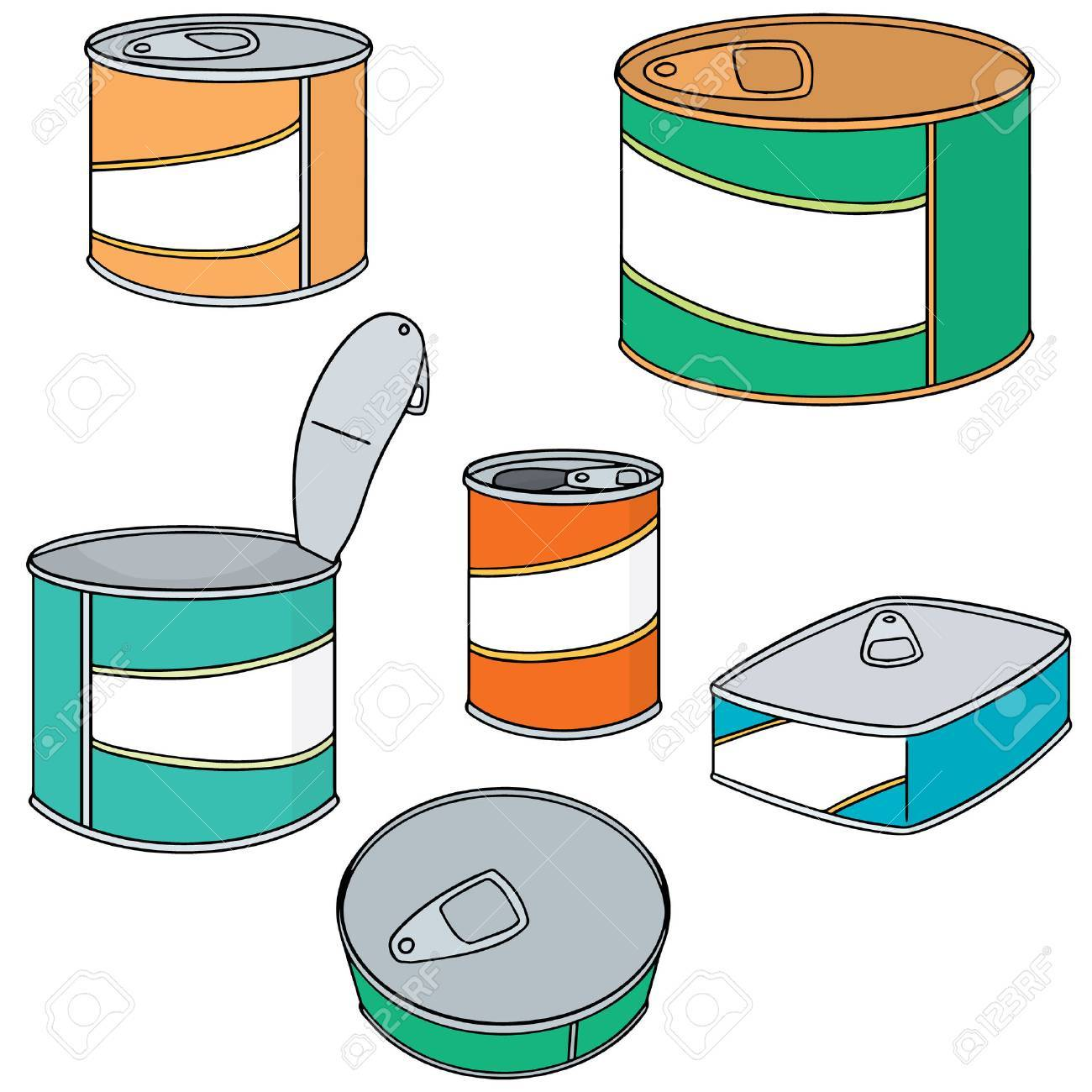 vector set of can - 82649927