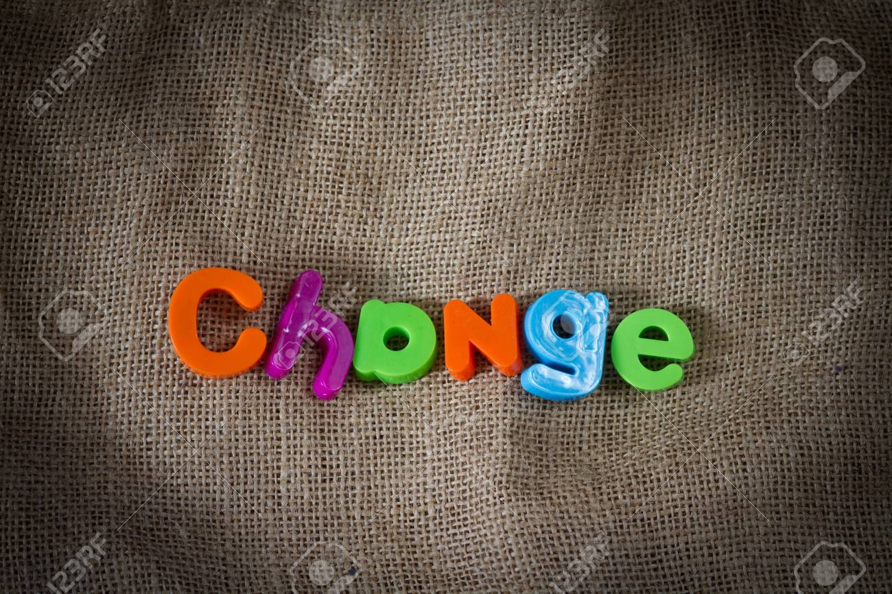 Change Dictionary Definition Low key close up Stock Photo - 9431730