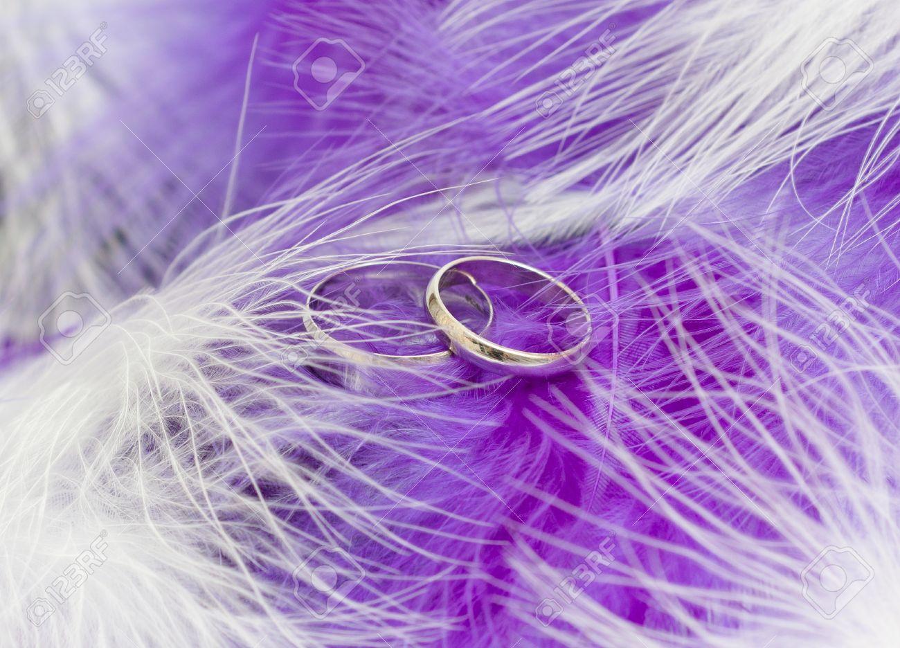 wedding engagement purple wedding rings Benson Diamond Band