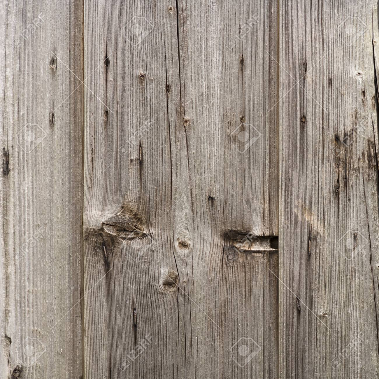 Old Wooden Exterior Door Full Frame Background Texture Stock Photo