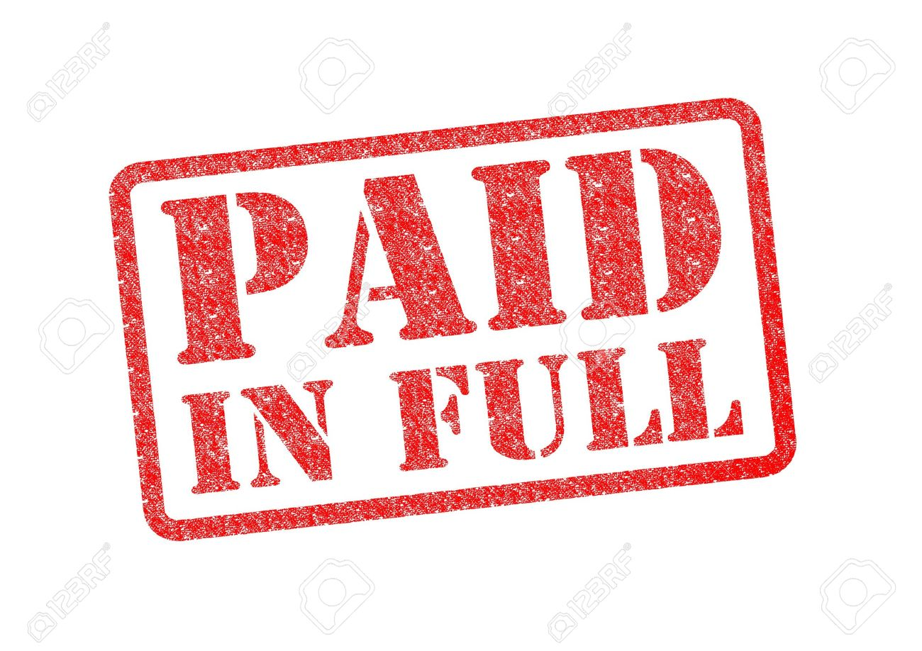 Doc12751650 Paid in Full Template Paid In Full Letter – Paid in Full Receipt Template