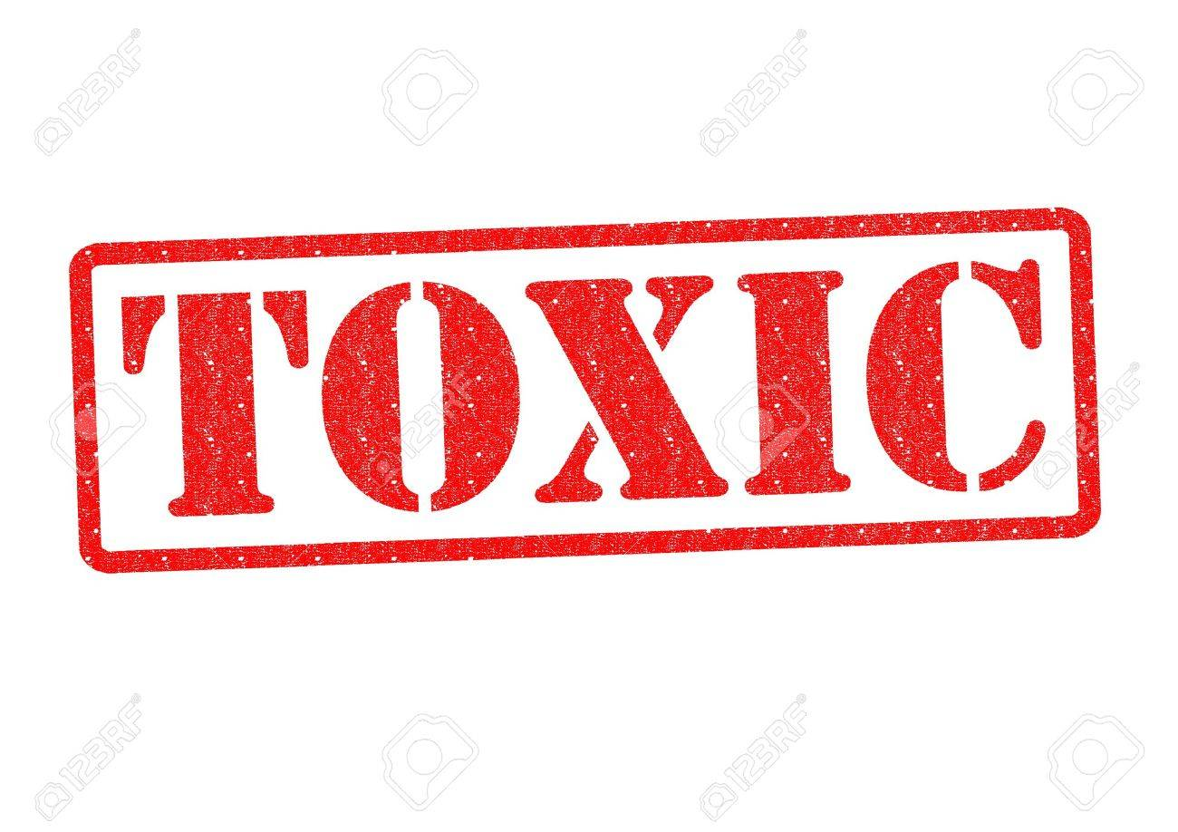 TOXIC Rubber stamp over a white background. Stock Photo - 20371183
