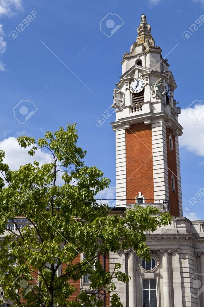 The impressive Lambeth Town Hall in Brixton, London Stock Photo - 22850420