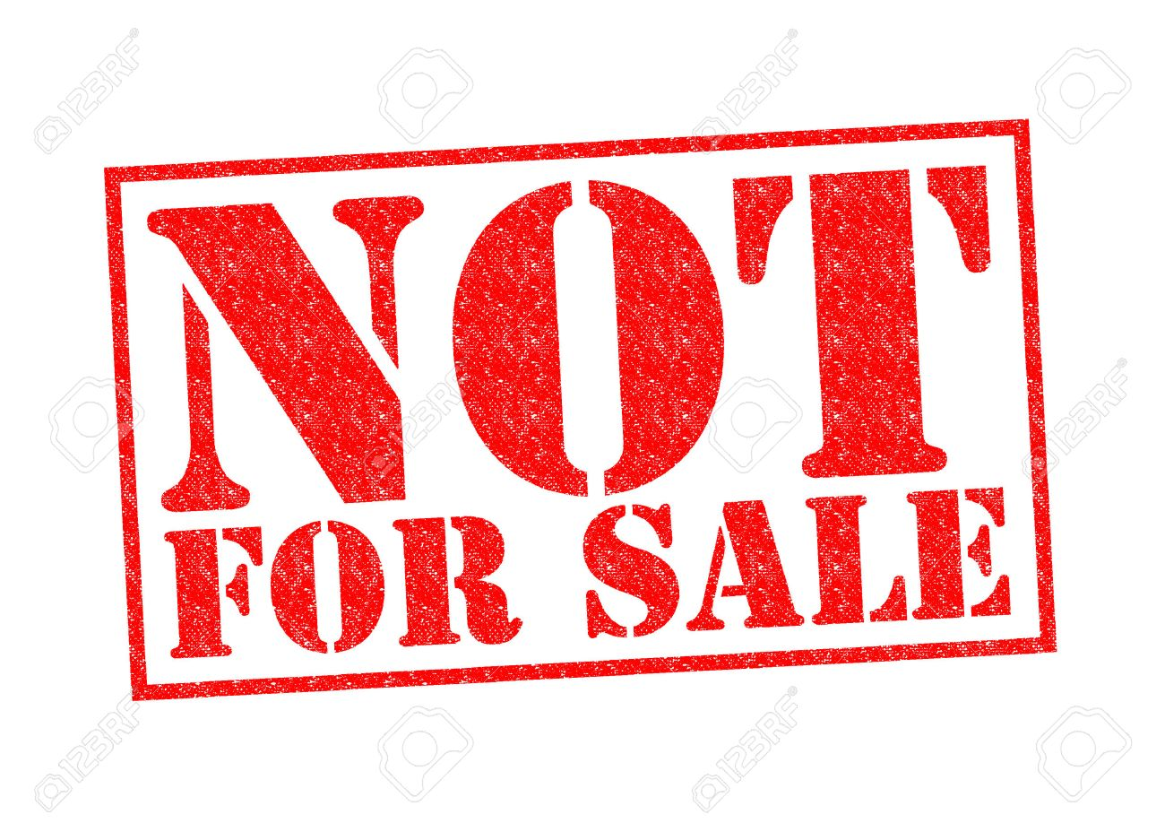 Not For Sale >> Not For Sale Rubber Stamp Over A White Background Stock Photo