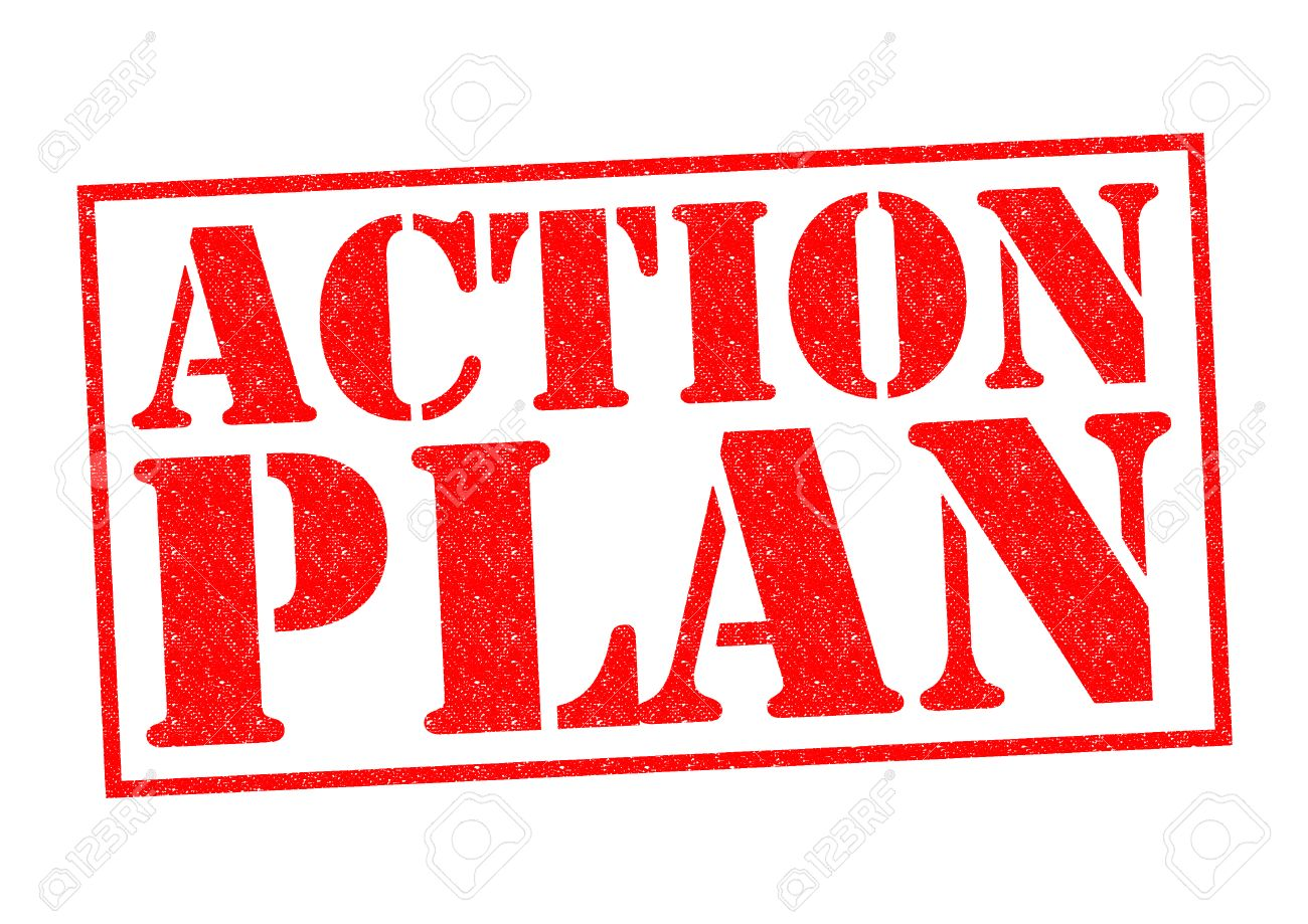 ACTION PLAN Red Rubber Stamp Over A White Background Photo – Action Plan